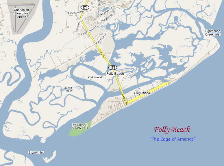 Folly Beach South Carolina Map.Folly Beach South Carolina Map The Best Beaches In The World
